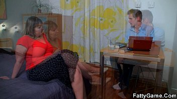bbw seduced by housewife Spy from car