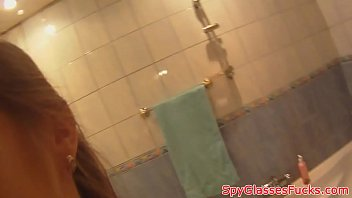 and sex shower amateur the in bathroom Mistress on cam