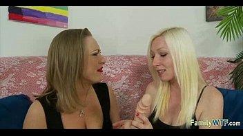 lesbian sad daughter mother blindfolded Selma hayak nude pics