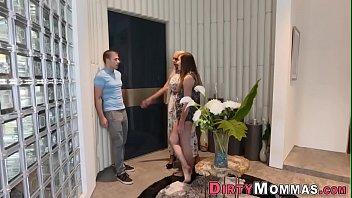 porn milf busty Russian teen nymph in stockings