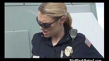 female blonde bbc vs cop Amateur couple on the stairs