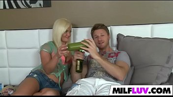 milf busty porn Blond college girl fucked