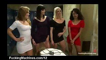 room locker threesome lesbians mixedracelesbos interracial 100 guys cum inside pussy