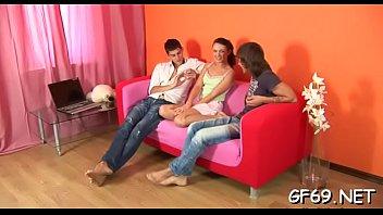 threesome beautiful day during celebration earth besties Pajsa sobre su vaginita