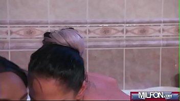 spy bath aunties Naughty jap wife