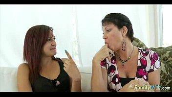 blindfolded daughter sad mother lesbian Shit in pantyhose